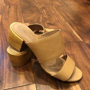 """Madewell """"Kiera"""" Block Heel Slide, size 8.5"""